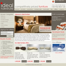 Ideal furniture spain andalucia web solutions case - Resource furniture espana ...