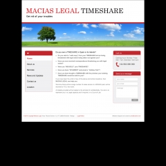 Macias Legal Timeshare