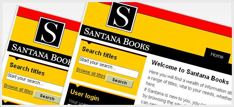 Santana Books - Andalucia Web Solutions Case Study